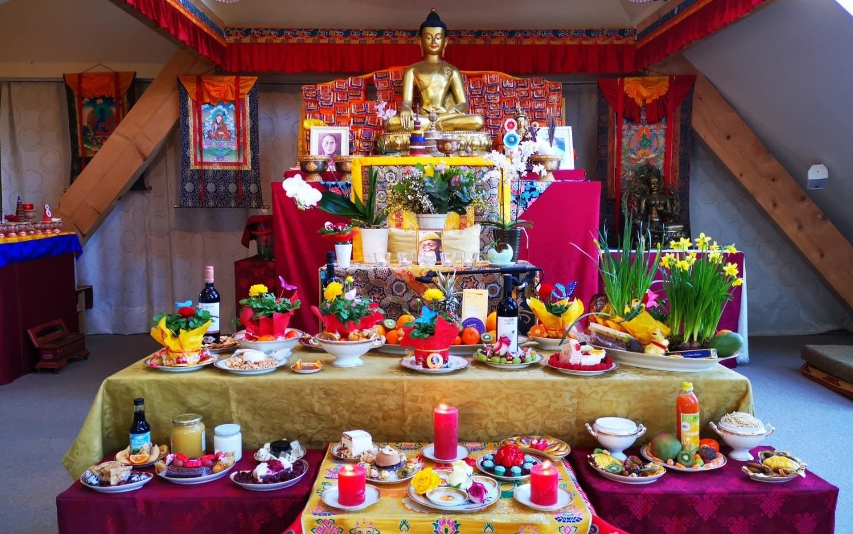 Die 14 Tage der Wunder des Buddhas
