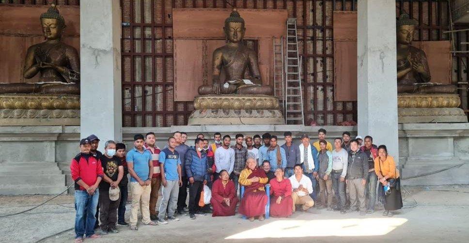Buddhas in Lumbini